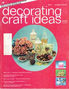 Loisirs Créatifs Livres : #1473 Décoration & Idées Magazine Novembre 1974