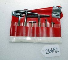Starrett Telescoping Gages Set of (6) Gages (Inv.26692)