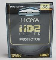 Hoya HD2 55mm Camera Filter Protector SLR HDSLR Brand New