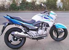 Suzuki Inazuma GW250 Z New pre-reg bike on 66 plate. Blue/white. Zero miles. A2