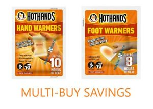 Hot Hands - Hand Warmers & Foot Warmers Hot Hands Packs Pocket Heat Feet Gloves