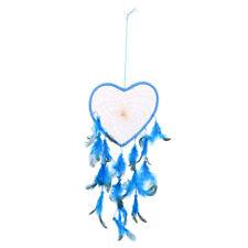 Handmade Blue Feathers Dream Catcher Wall Hanging Home Car Decor Craft K1B
