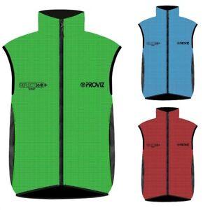 Proviz REFLECT360 CRS Plus Men's Hi Viz Reflective Cycling Vest Hi Visibility