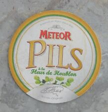 Sous-bock de bière Meteor Pils, bon état