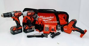 Milwaukee 2695-24 M18 4-Tool Combo Tool Kit