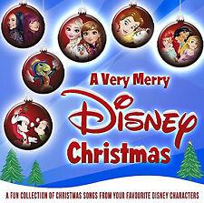 a Very Merry Disney Christmas CD Various Artists 2017