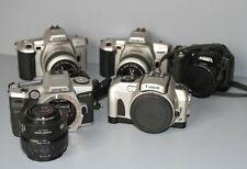 Lot of 5 Cameras - Film & Digital - Parts Repair - Minolta Canon Nikon (102436)