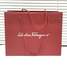 Salvatore Ferragamo 12 x 15.5 x 7 Shopping Bag Gift Tote Paper Bag