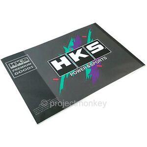 Color Name : 1 Metallo 3D Autoadesivo Hks Logo Tail Tail Distintivo dellemblema delle Decalcomanie Autoadesivo Auto Styling