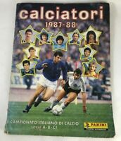 album calciatori panini 1987 88 non completo BAGGIO MARADONA MALGIOGLIO MALDINI