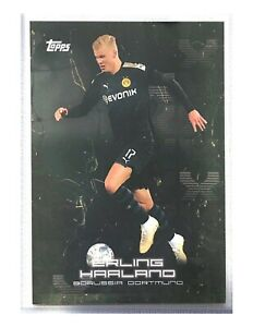 2020 Topps Erling Haaland Rookie #25 RC Borussia Dortmund BVB Curated Set