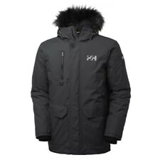 Helly Hansen Mens Svalbard Waterproof Breathable Parka Jacket Coat S Black 53150-990-s
