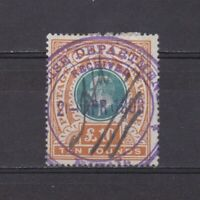 SOUTH AFRICA NATAL 1902, SG# 145, Fiscal cancelation