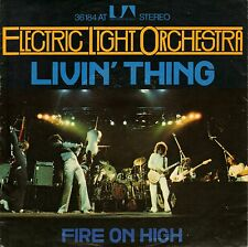 """7"""" Electric Light Orchestra (ELO) – Livin' Thing // Germany 1976"""