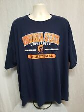 Virginia State University Basketball Adult Blue 4XL TShirt