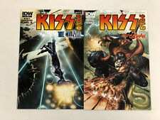 Kiss Solo #3 and #4 -Comic Book Lot- Visit My Store -Gene Simmons-