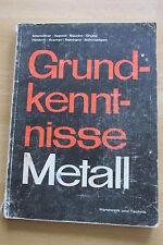 Lehrbuch Grundkenntnisse Metall Roheisen Meißel Elektroschweißen Kleber Eisen