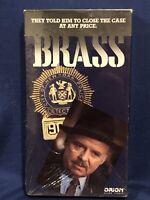Brass VHS Rare HTF OOP ***New Sealed***