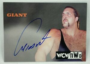 1998 Topps WCW NWO Signatures GIANT / The Big Show / Paul Wight AUTOGRAPH AUTO