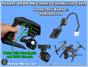 "YUNEEC Q500 4K CGO3 CONNECTION WIRE ""NEW"" YUNCGO3104"