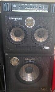 Behringer Bass Amp ( Ultrabass BX4210A ) - Used