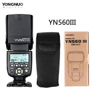 Yongnuo YN-560 III Flash Speedlight Camera flash for Canon Nikon Pentax camera