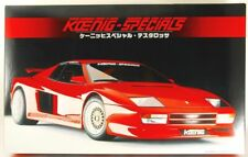 FUJIMI 1/16 SCALE Enthusiast Model KOENIG-SPECIALS TESTAROSSA made in japan!
