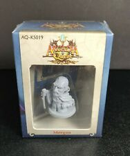 ARCADIA QUEST Morgan figure and card, New in Shrink kickstarter exclusive