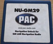 PAC NU-GM29 CAR RADIO STEREO NAVIGATION BLUETOOTH UNLOCK INTERFACE ONLY!