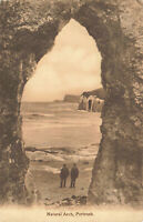 Rare Vintage Postcard - Natural Arch, Portrush - N.Ireland Early 20th Century.