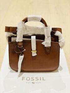 Fossil Ryder Mini Satchel Brown