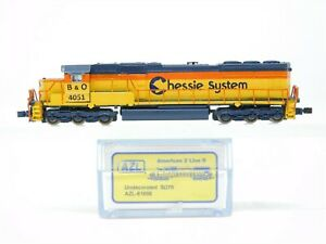 Z Scale AZL American Z Line 61098 B&O Chessie System SD70M Diesel #4691 Custom