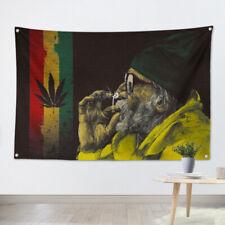 Rock Band Heavy Metal Music Hanging Flag Banner Retro Cloth Art Wall Decor GHG