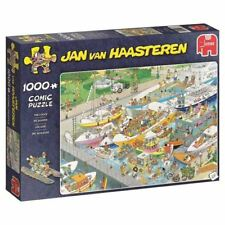 Jumbo Comic Jigsaw Puzzle - The Locks By Jan Van Haasteren - 1000 Piece 19067