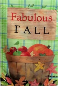 "Fabulous Fall Standard House Flag by Toland #3007, 28"" x 40"", Autumn"