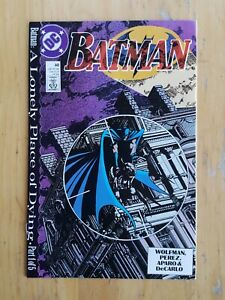 Batman, #440 (1989, DC Comics) High Grade. A Lonely Place of Dying