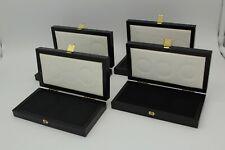 PRAGER:  Münz Zubehör, Etuis, 4 Stück Sammelzubehör, Box,   [DO5]