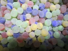 2 POUNDS 9/16 INCH FROSTED RAINBOW MEGA / VACOR MARBLES FREE SHIPPING