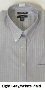 Kirkland Signature Men's Traditional Fit Dress Shirt