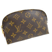 LOUIS VUITTON POCHETTE COSMETIC POUCH PURSE MONOGRAM M47515 CA0969 AUTH 33029