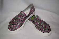 NEW  Women's Size 10 CROCS Citilane Roka Floral Slip On Loafer Water Boat Shoes