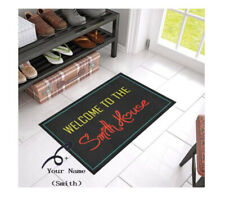 Custom Your Name On Home Decor Floor Mat Personalized Non-Slip Rubber Doormat