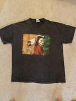 VTG Native American Graphic T-Shirt 90s Tribe Chief  Tribal