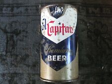 El Capitan, flat top beer can.Pacific brewing,.Oakland, Calif.