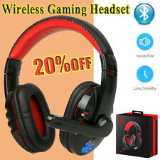 Pro Gaming Headset With Mic Wireless Headphones Microphone PC Laptop Computer