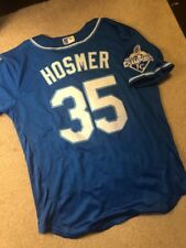 Eric Hosmer Jersey Royals 2015 World Series Mens Size Large