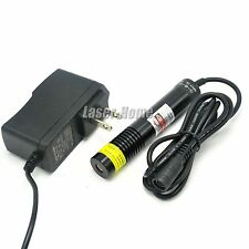 w/AC Adapter 650nm 660nm 200mW Red Laser Line Diode Module Long time working