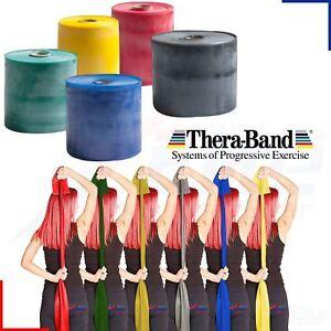 Theraband Resistance Bands Thera-Band Yoga Exercise Pilates Physio Catapult