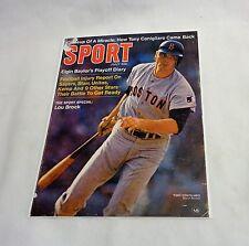 Boston Red Sox 1969 Sport Magazine Cover Tony Conigliaro Picture 8x10 FREESHIP