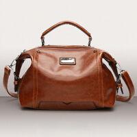 Handbag Tote Messenger Satchel Leather Crossbody Women Ladies Purse Shoulder Bag